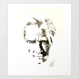 Mustafa Kemal ATATURK  Art Print