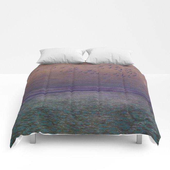 'under every deep a lower deep opens' Comforters