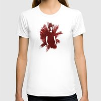 sam winchester T-shirts featuring Watercolor Sam Winchester by fairandbright