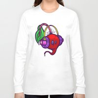 fat Long Sleeve T-shirts featuring Fat Beets by Artistic Dyslexia