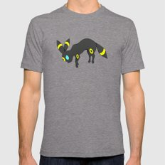 Umbreon 2X-LARGE Mens Fitted Tee Tri-Grey