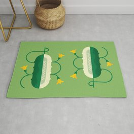 Vegetable: Cucumber Rug