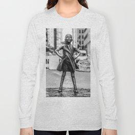 Fearless Girl NYC Long Sleeve T-shirt