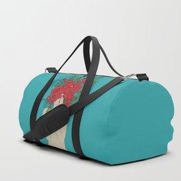 Blooming Red Duffle Bag