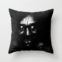 sandman Throw Pillows featuring Mr Sandman Bring Me A Dream.  by brett66