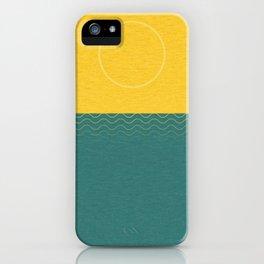 Summer Noon iPhone Case