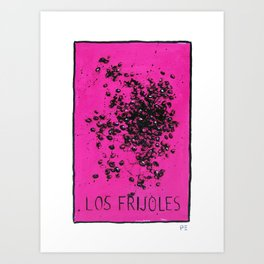 Los Frijoles  Art Print