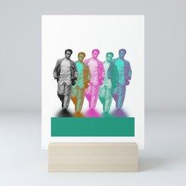James takes a walk on the wild side Mini Art Print
