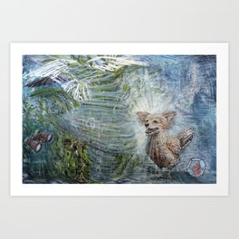 Patron of The Wind Art Print