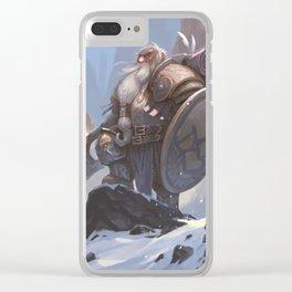 Gorimbur Axehand Clear iPhone Case