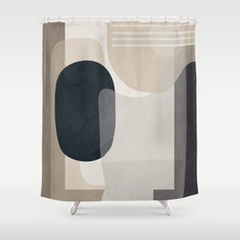 Abstract Geometric Art 52 Shower Curtain