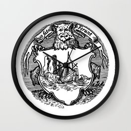 Conquest of the New World Wall Clock