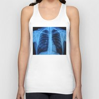 medical Tank Tops featuring x ray medical radiography by tony tudor