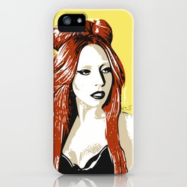 UNCONVENTIONAL BEAUTY iPhone Case
