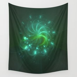 Geometric Cosmic Light 166 Wall Tapestry