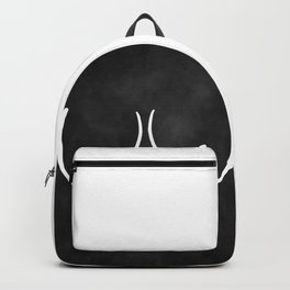minimalist boobs Backpack