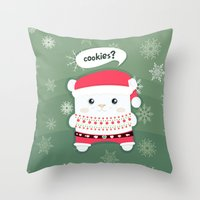 cookies Throw Pillows featuring cookies? by techjulie