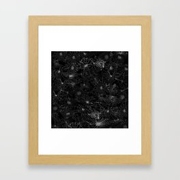 cobwebs Framed Art Print
