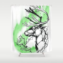 Island Memories Shower Curtain