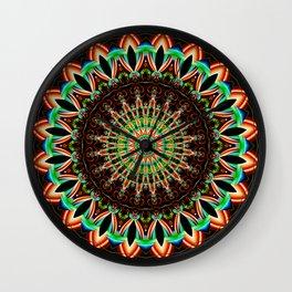 Mandala India Style 3 Wall Clock