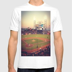 at&t park Mens Fitted Tee MEDIUM White