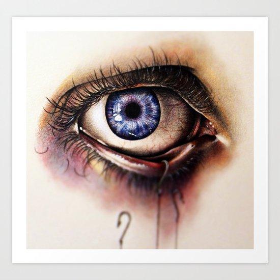 You Caught My Eye (again) Art Print