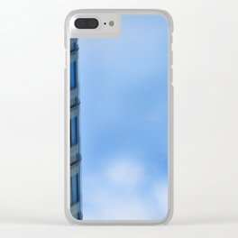 Geometry Vision_3 Clear iPhone Case