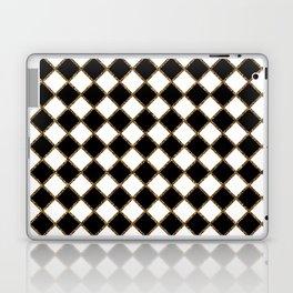 Geometric ornament gold seamless pattern Laptop & iPad Skin