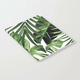 Tropical Jungle Leaves Pattern #12 #tropical #decor #art #society6 Notebook