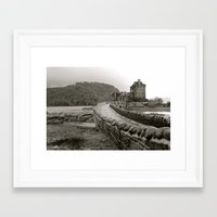 scotland Framed Art Prints featuring Scotland by Emily Caldwell