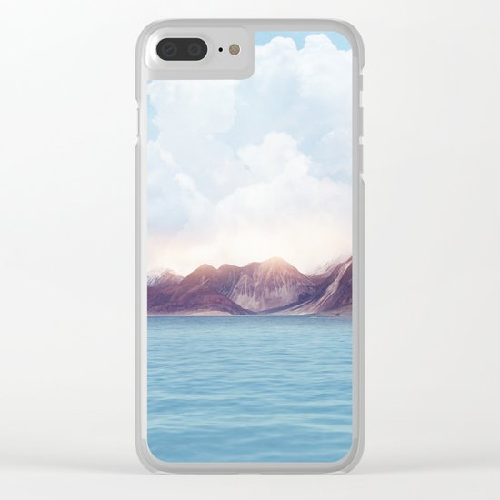Pastel vibes 61 Clear iPhone Case