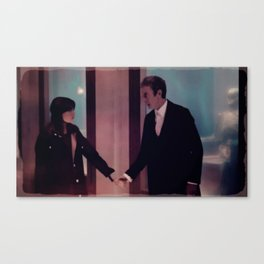 A Hand to Hold Canvas Print