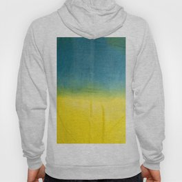blue yellow ombre Hoody