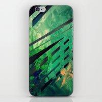 malachite iPhone & iPod Skins featuring MALACHITE by Matt Schiermeier