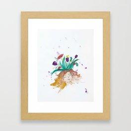 blazz studios: Bliss Framed Art Print