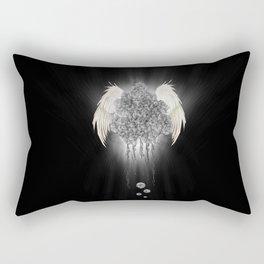 Angel of the chaos Rectangular Pillow