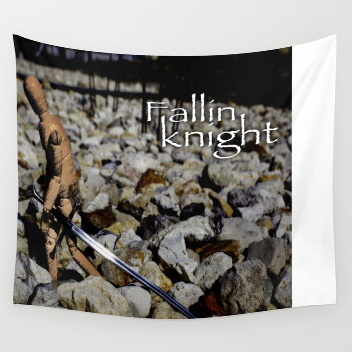 fallin knight 2 Wall Tapestry