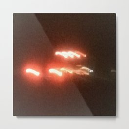 Abstracte Light Art in the Dark 19 Metal Print