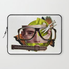 Make me perfect   Collage Laptop Sleeve