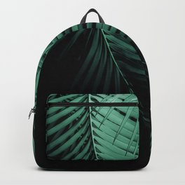 Palm Leaves Green Vibes #3 #tropical #decor #art #society6 Backpack