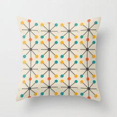 Midcentury Pattern 02 Throw Pillow