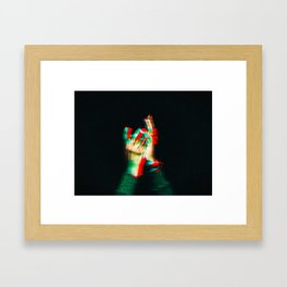 The Glitch - 2 Framed Art Print