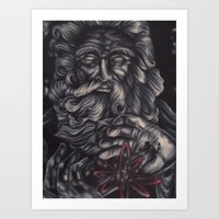 atheist Art Prints featuring Jaded Art by Jaded Art    By James Schreck