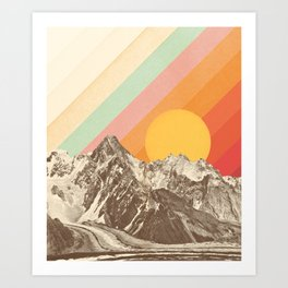 Mountainscape 1 Art Print
