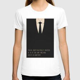 Men In Black T-shirt