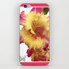 Butterflies Fairies and The Gladiola  iPhone Skin
