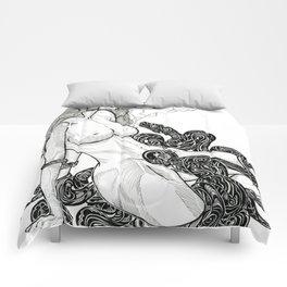Storm cloud Comforters
