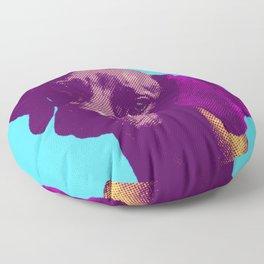 Dog pop Floor Pillow