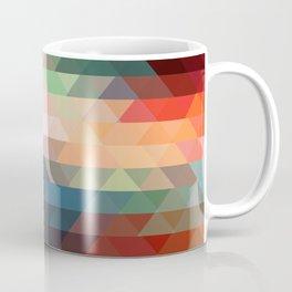 Retro Triangles  Coffee Mug