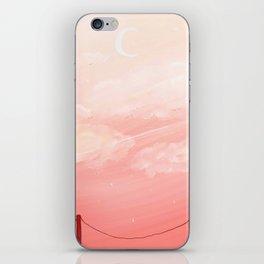 warm sky iPhone Skin